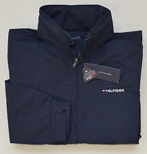 New With Tag TOMMY HILFIGER men's Jacket, XL, XLarge, Navy-Blue, Hood, Full Zip