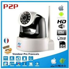 Robot Camera IP Network Wifi IR HD 720p 1.3 Megapixel reader sd card ONVIF Eye