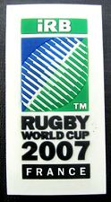 33344 RUGBY WORLD CUP RWC 2007 FRANCE RUBBER 3D MAGNET RECTANGLE