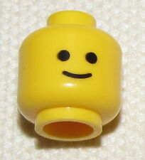 LEGO NEW MINIFIGURE STANDARD YELLOW HEAD GRIN SMILE MINIFIG FACE TOWN