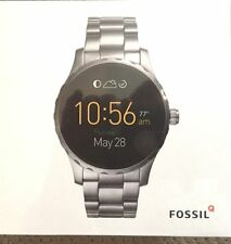 **NEW** MENS FOSSIL Q MARSHAL 45mm STEEL WATCH SMARTWATCH FTW2109 -  - RRP £279