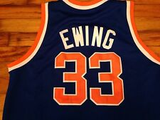 Patrick Ewing Jersey NY Knicks Mitchell And Ness Stitched Sz 50