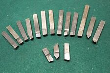 "16 USA Made 3/8""  carbide tipped lathe toolbits Gunsmith South Bend FREE ship"