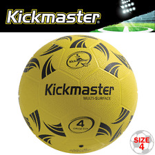 """NEW 2017"" KICKMASTER KIDS HIGH PERFORMANCE MULTI SURFACE FOOTBALL / SIZE 4"