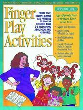 Finger Play Activities: Finger Play, Instant Games and Patterns to Involve Child