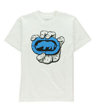 Ecko Unltd. Mens In hand Graphic T-Shirt blchwhite S