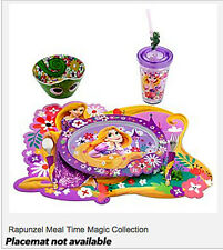 Disney Rapunzel Flatware Fork and Spoon Set Part of Mealtime Kids Tangled