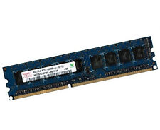 4GB 2Rx8 Dual Rank DDR3 1333 Mhz ECC UDIMM Unbuffered Hynix PC3-10600E RAM DIMM