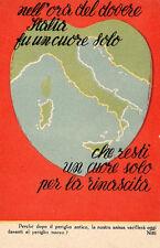 """WW1 Propaganda - """"Nell'Ora del Dovere..."""" - Non Viaggiata - PR065"""
