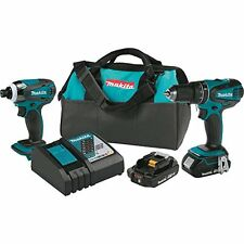 Makita XT273R 18V LXT Lithium-Ion Compact Cordless 2-Pc. Combo Kit 2.0Ah