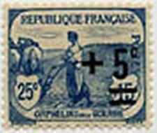 """FRANCE N° 165 """" AU PROFIT DES ORPHELINS DE LA GUERRE +5 C S 25+15 C"""" NEUF xTB"""