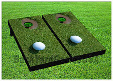 CORNHOLE BEANBAG TOSS GAME w Bags Game Boards Golf Game Set 1103