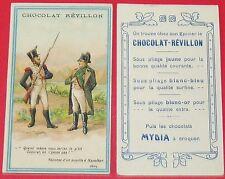 CHROMO 1920 CHOCOLAT REVILLON MYDIA A CROQUER UN PUPILLE A NAPOLEON 1805