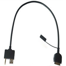 Trendy 3.5MM AUX Adapter USB Cable Input For HYUNDAI KIA iphone4 4S ipod