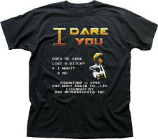 I DARE YOU PULP FICTION bad mother Samuel Jackson funny t-shirt 9865