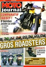 MOTO JOURNAL 1840 TRIUMPH 675 1050 HONDA CB 1000 DUCATI 1100 Monster YAMAHA FZ1