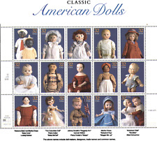 USA 1997 American DOLLS/Children's Toys/Heritage/History/People 15v sht (n15892)