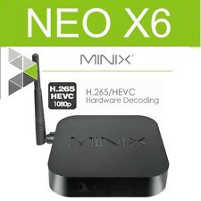 MINIX NEO X6 TV BOX Quad Core 2.4 Ghz WiFi Android KODI Media Streaming Player