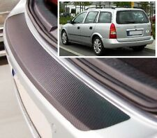 Vauxhall/Opel Astra MK4 Estate - Carbon Style rear Bumper Protector