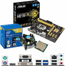 Intel Core I7 4790k 4ghz & ASUS H81M-PLUS - Placa Madre Y Cpu Bundle