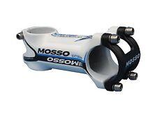 Mosso MTB Stem 90mm length White/Blue Biking Cycling