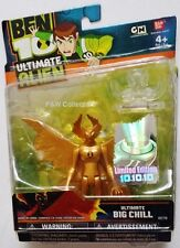 """BEN 10 BEN10 ULTIMATE GOLD BIG CHILL 4"""" ACTION FIGURE LIMITED EDITION NEW"""