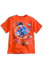 DISNEY STORE MILES Glow In Dark TOMORROWLAND MILES & MERC TEE T-SHIRT SIZE 2/3