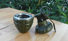 Dummy M26 M26A2 Smoke Grenade shape 2 in 1 Ashtray & Windproof lighter Funny Toy
