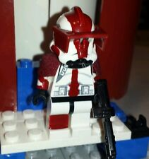 Lego Star Wars Clone Wars Arc Commander Deviss Custom Figure