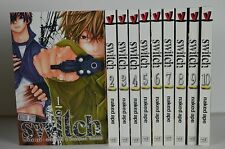 Switch manga vol. 1-10 by Naked Ape English US SELLER