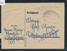 89615) DR post Automation: PST II 20 Evessen tramite Braunschweig + treno post 1944