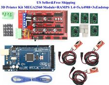 3D Printer Kit MEGA2560 Module+RAMPS 1.4+5xA4988+3xEndstop For Arduino RepRap