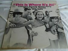 Not Released Rock Roll Cheesecake LP : Miami Beach Party ~ This Is Where It's At