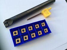 CCMT/CCGT-Bohrstange S16Q SCLCR 09 mit Wendeplatten für STAHL !!  NEU!!