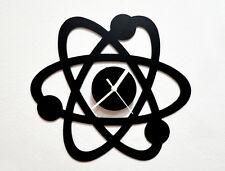 Science Atom - Wall Clock