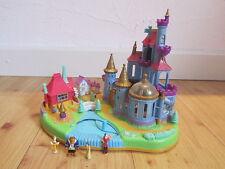 Polly Pocket Blue Bird MINI Die Schöne und das Biest Disney Schloss Magnetisch