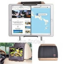 Tablet Headrest Mount Holder Car iPad Pro Rear Seat Swivel Screen Attach 9 Inch