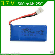 3.7V 500 mAh Lipo Battery for Hubsan X4 H107 H107L H107C H107D V252 JXD385