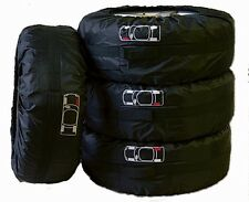 "SEASONAL TIRE WHEELS STORAGE CARRY BAG 26"" DIAMETER WITH LUG NUT STORAGE POCKET"