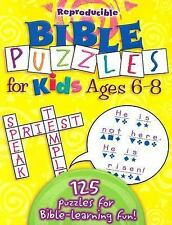 Bible Puzzles for Kids 6-8