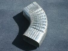 "Downspout Galvanized Steel Side Elbow 75 degree angle 3"" X 4"""