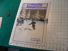 Vintage SKI Newspaper: The KILLINGTON-PICO PAPER 1975 ski show issue, 40pgs