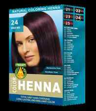 Henna Natural Hair Dye Powder Hair Color Toner Violet red