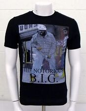 NOTORIOUS B.I.G. Black SMALL Hip-Hop Rapper MC T-Shirt BIG Biggie Smalls