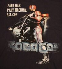 VINTAGE TOY AUTHENTIC RETRO ROBO COP ALL COP NAVY BLUE T SHIRT TEE SZ S NEW