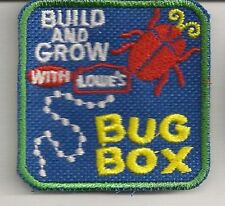 Lowe's Build & Grow Kids Workshop Collectible Patch: Bug Box