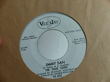 JIMMY SAN The four coins / they say VEE JAY VJ 474 PROMO
