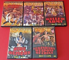 Martial Arts Lot 5 Rare DVDs The Venoms SB Shaw Scope Limited Collector Edition