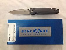 NEW Benchmade 485 Valet M390 Super Steel Plain Edge Knife Axis Lock G10 Handles