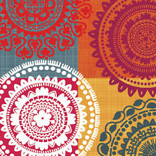 20 Lunch Paper Napkins ETHNIC THEME Decoration DECOUPAGE Pattern India Style